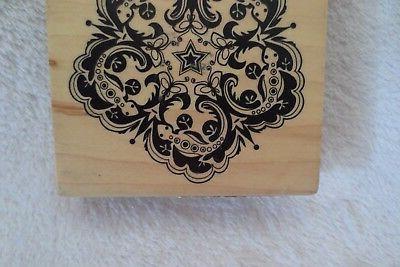 Inkadinkado Stamp Wood Mounted Large Rubber Stamp