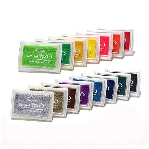 stamp ink pads water soluble