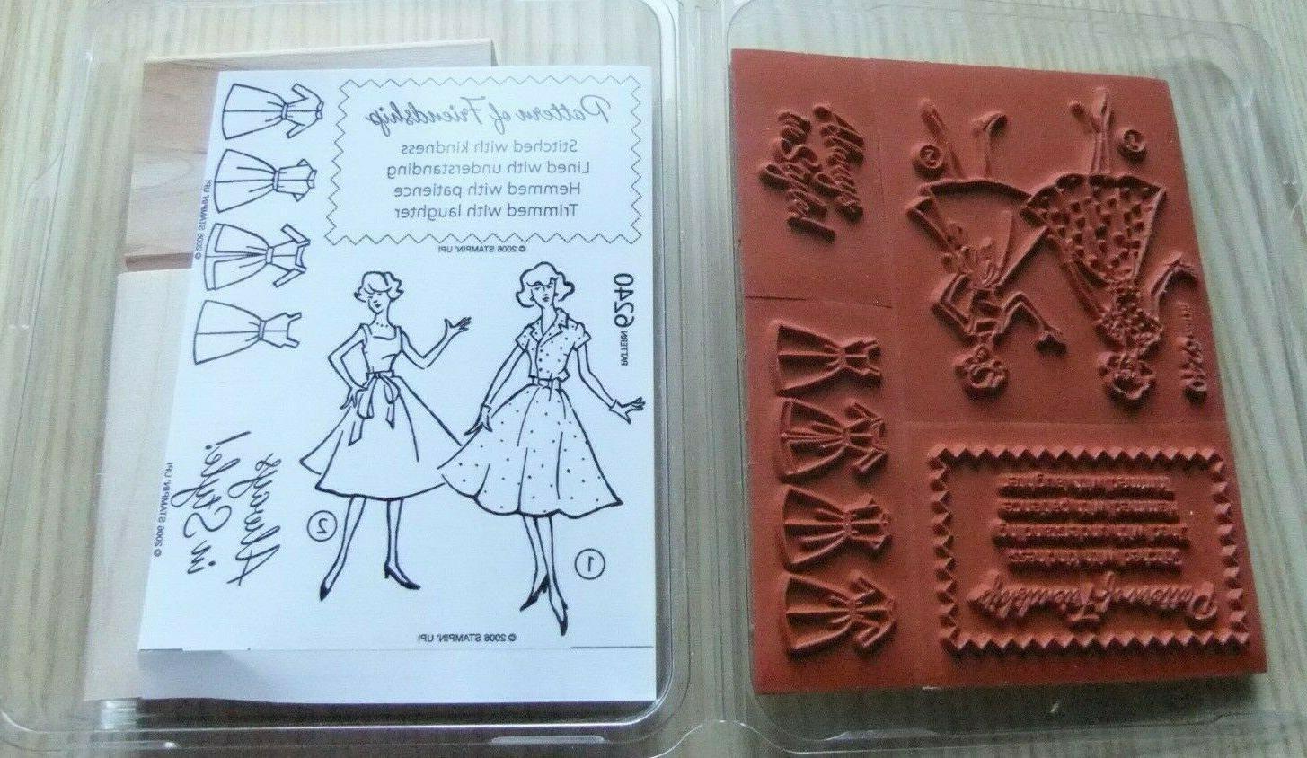 stampin up rubber stamp set pattern of