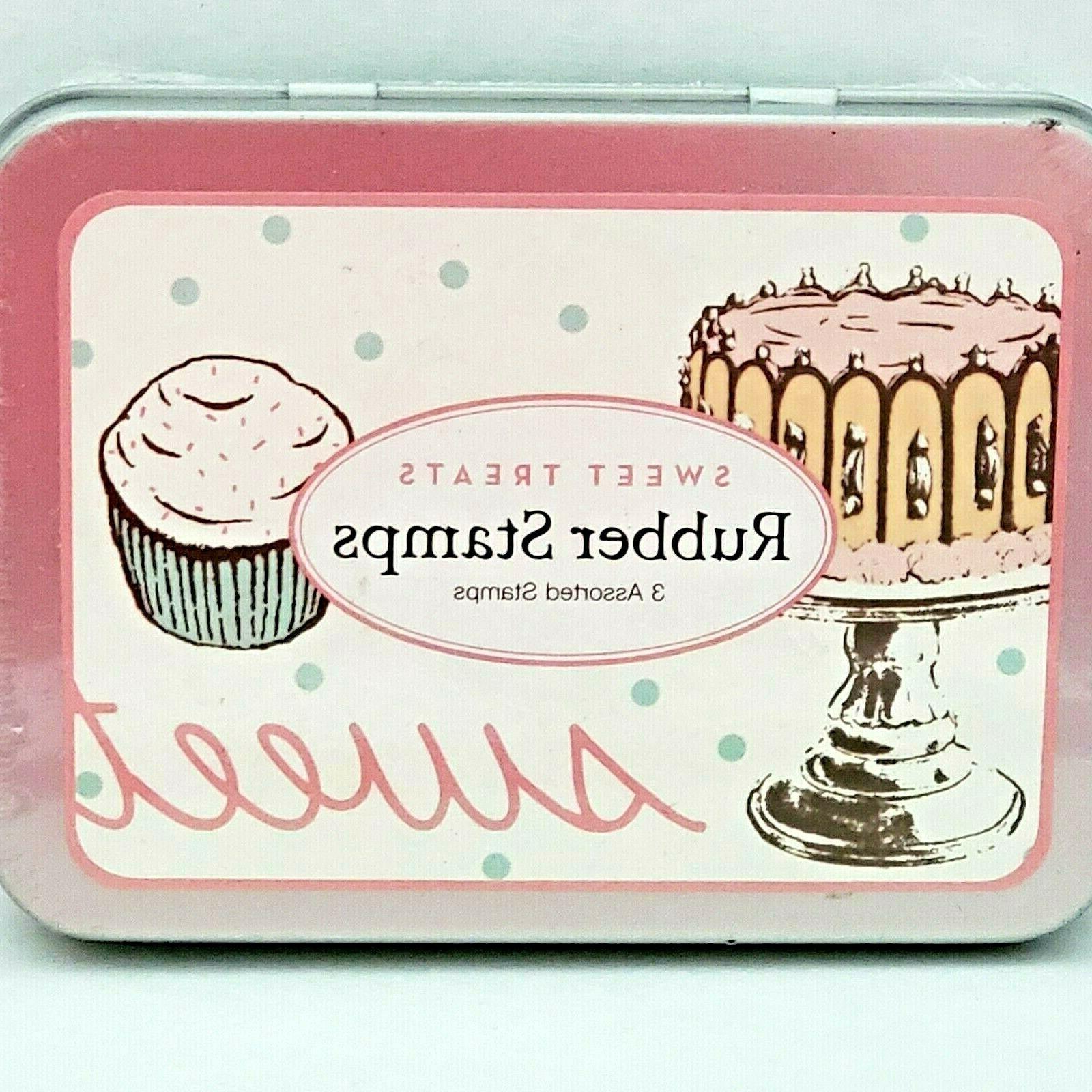 Cavallini & Co. Sweet Treats Rubber Stamp Set