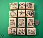 Teachers Rubber Stamp Set 12, for the younger children