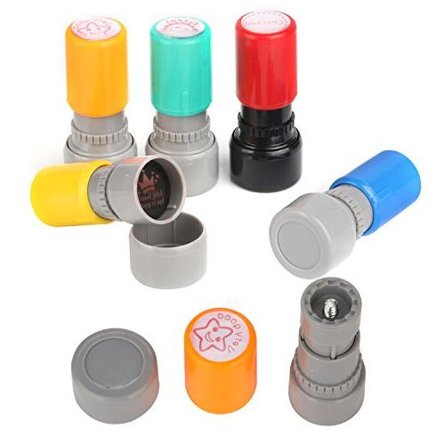 TEKEFT Sorted Rubber Stamps Teacher Review Stamps