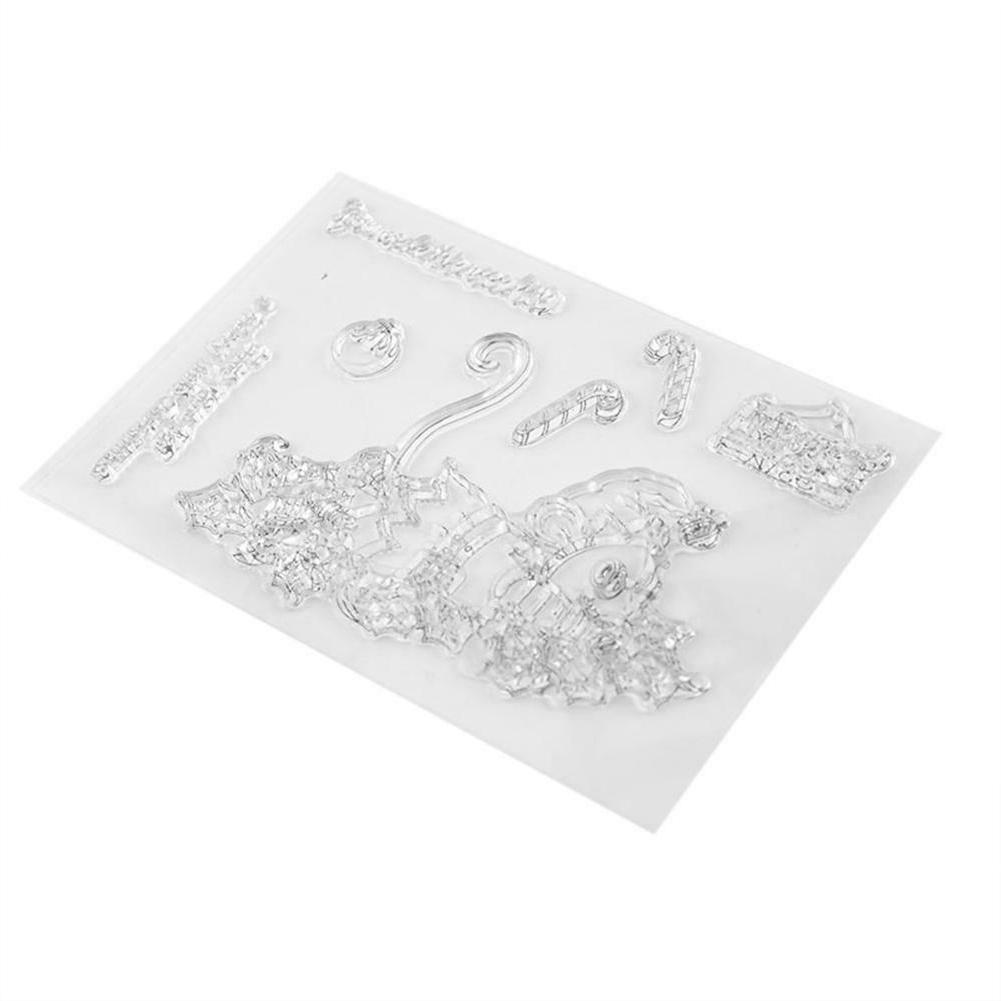 Transparent Clear Rubber for Album Gift