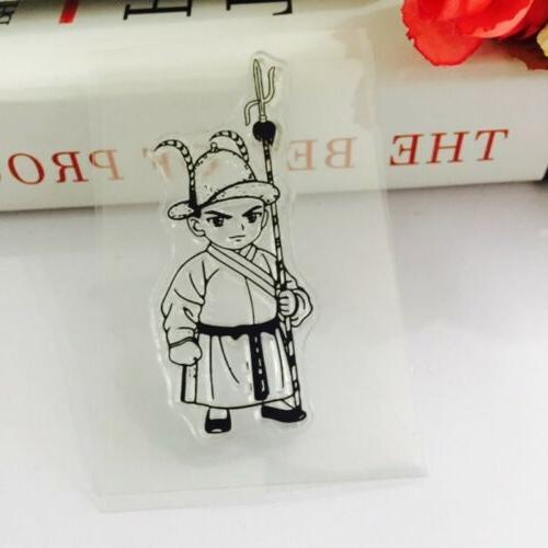 Transparent Silicone Rubber Stamp