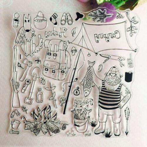 Transparent Clear Stamp Diary