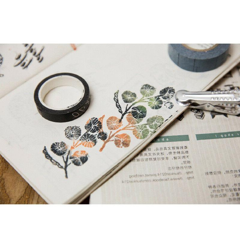Transparent Color Stamp Cling Scrapbooking