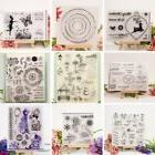Transparent Silicone Rubber Clear Stamps Scrapbooking Decor