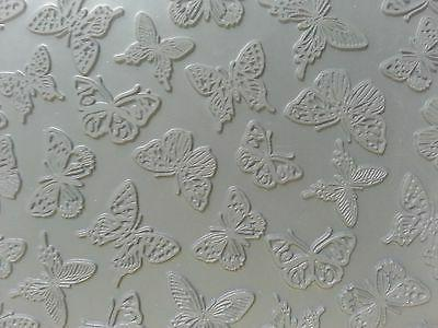 unmounted a2 stamp for polymer clay butterflies