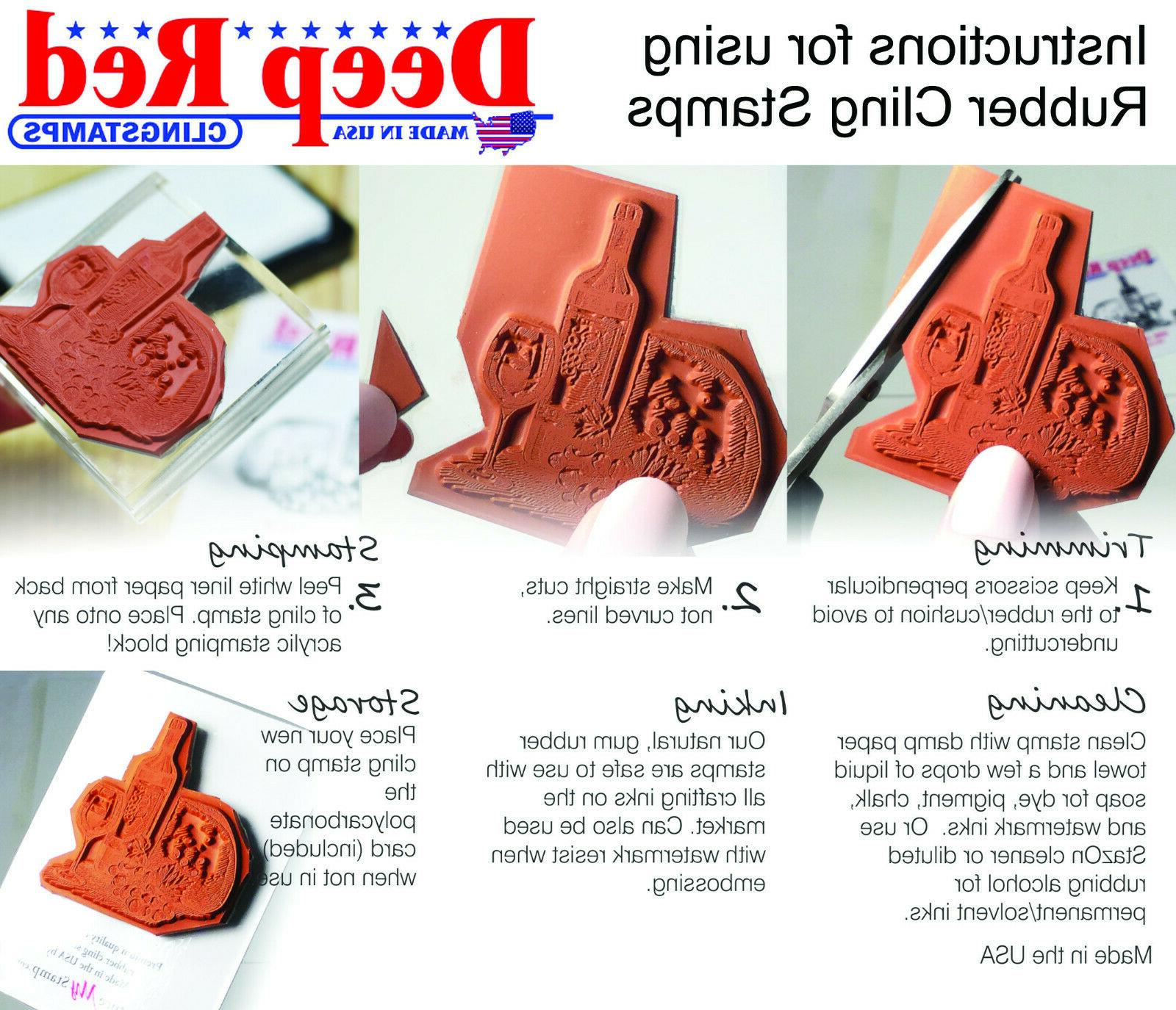 Deep Time Rubber Stamp