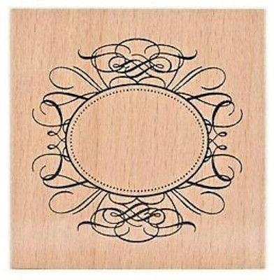 wedding frame rubber stamp 59021