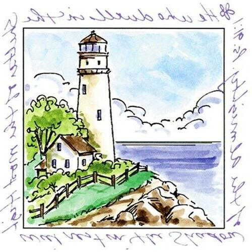 windows to the world collection rubber stamp