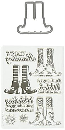 Hero Arts Witch Feet Stamp & Cut Die