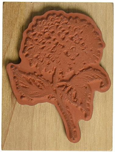 Inkadinkado Wood Rubber Stamp DD-Hydrangea