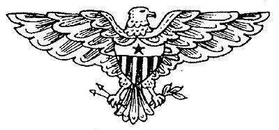 Wood Stamp, Patriotic Stamps, American Eagle, 4th of