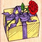 Hero Arts~WRAPPED with ROSE~Wood Mounted Rubber Stamp~C 567~