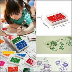 Lsushine Craft Ink Pad Stamps Partner Diy Color,15 Color Cra