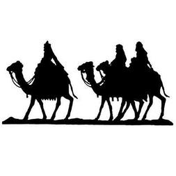 Magi / Camels Silhouette unmounted rubber stamp religious Ch