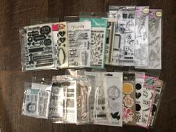 MANY NAME BRAND STAMP SETS Choose from a Variety U PICK!