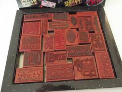MARY ENGELBREIT MARY'S MOTTOS RUBBER STAMP SET 23 No stamp p