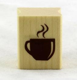 Inkadinkado Mounted Rubber Stamp Set 2.5X4-Coffee