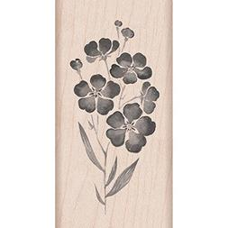 Hero Arts Mounted Rubber Stamps 4X2-Flowers On A Stem