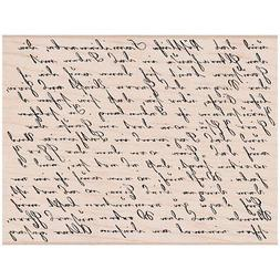 Hero Arts HA-S4878 Old Letter Writing Mounted Rubber Stamps,