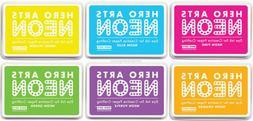 Hero Arts Neon Colors Stamping Dye Ink Stamp Pad Acid Free A