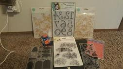 NEW 8 Sets: Acrylic Rubber Clear Stamps DIY Photo Album Card