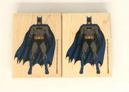 new batman rubber stamp full body