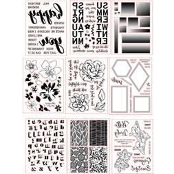 New Design Rubber Stamps Seal Stencil Handcrafts Paper Card