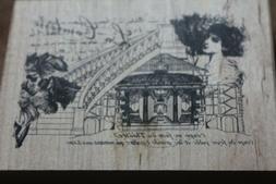 NEW Inkadinkado Rubber Stamp Illuminata La Comtesse *scrap-b