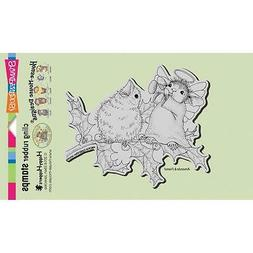 New Stampendous RUBBER STAMP cling House Mouse JOYFUL NOISE