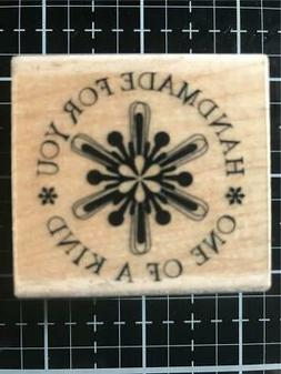 New Inkadinkado Rubber Stamp Handmade for you one of a kind