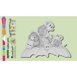 New Stampendous Rubber Stamp House Mouse HALLOWEEN PAPER BAG