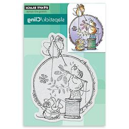 New Penny Black STITCH IN TIME Slapstick Cling Rubber Stamp