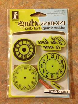 Inkadinkado - Nothing but Time - Rubber stamps