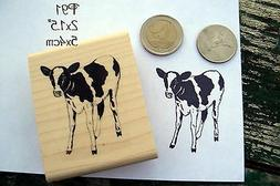 P91 Calf, cow rubber stamp