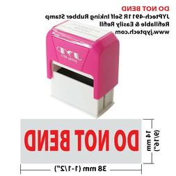 "JYP PA1040 Rectangle Stock Pre-Inked Rubber Stamp with ""Do N"