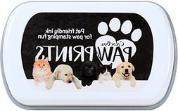 paw prints ink pad