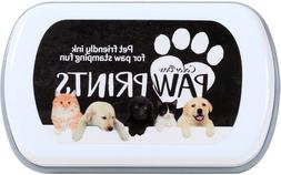 Colorbox Paw Prints Stamp Pad, Black, Pet Friendly