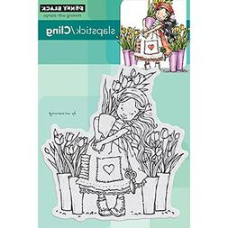 Penny Black PB40293 Penny Black Cling Rubber Stamp 4 in. x 6