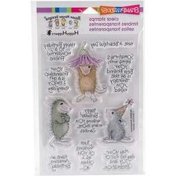 Stampendous Perfectly Clear Stamps 4X6-Friend Wishes