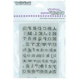 Stampendous Perfectly Clear Stamps 3X4 Sheet-Small Typewrite