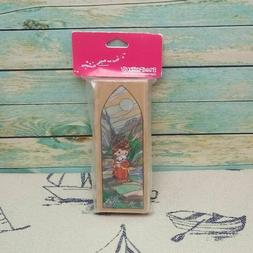 Stampendous Precious Moments Chapel Etchling Rubber Stamp UY