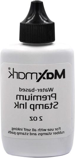 Premium Refill Ink for self Inking Stamps and Stamp Pads, Bl