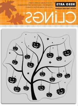 Hero Arts Rubber Stamps Pumpkin Tree Cling Stamp by Hero Art