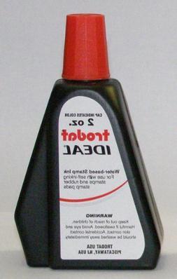 Trodat Ideal Red Self-inking Stamp Refill Ink, 2 Oz Drip Spo