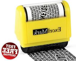 rolling identity theft guard stamp
