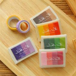 Rubber DIY Oil Based Signet Wedding Decor Ink Pads Stamp Gra