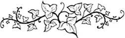 Rubber stamp - Border Ivy - Artemio PEC542